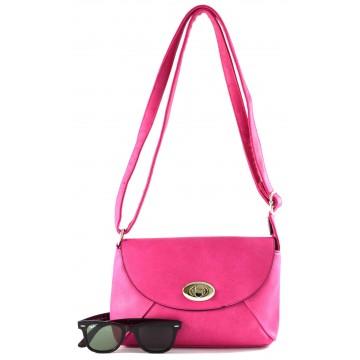 Růžová kabelka Alejandra