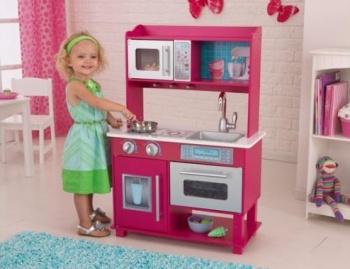 S kuchyňkou si vyhrají malí kuchtíky - holky i kluci