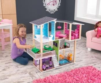 Domeček pro panenky je ideálním dárkem pro každou holčičku