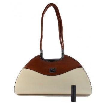 Krémová kabelka Luisa, cena: 999 Kč