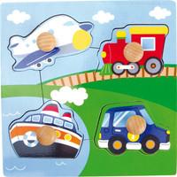 Puzzle dopravní prostředky, cena: 139 Kč