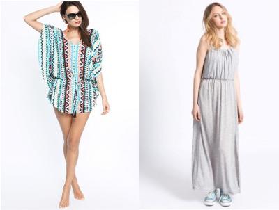 Bohémský styl je letos zastoupen řadou prvků, jež se přenáší z různých jiných stylů. Pořiďte si např. volný overal, maxišaty či šaty zvané slip dresses.