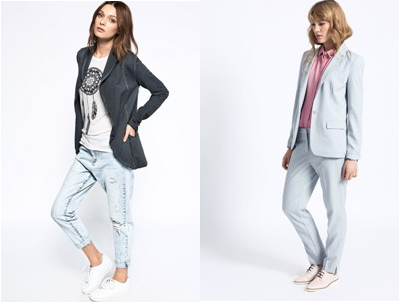 Boyfriend stylu letos bezkonkurenčně vévodí odřené džíny a pánské košile.