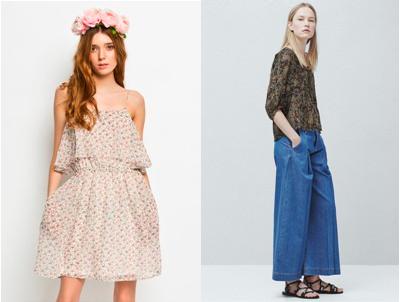 Chcete se letos ukázat v hippies stylu? Pak vám nesmí chybět nějaký ten kousek s květinovým vzorem, čelenka z květin nebo široké kalhoty ke kotníkům tzv. culottes.